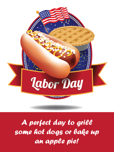 All American – Happy Labor Day Card