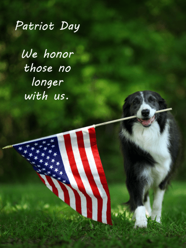 Honor the Fallen – Patriot Day Card for 9.11