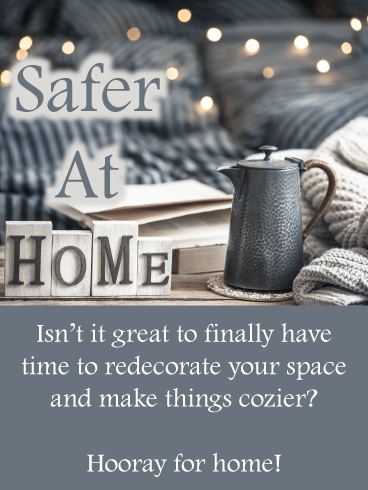 Increase Your Cozy – Stay At Home Card