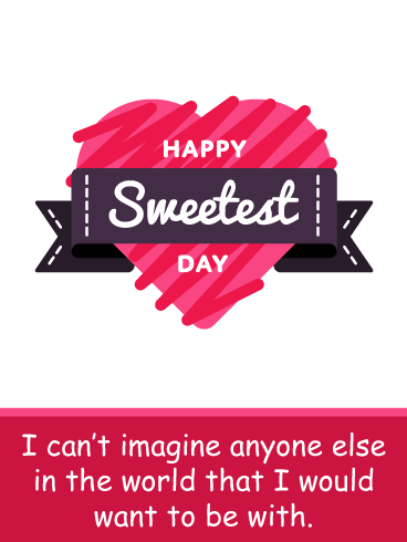Scribble Love – Happy Sweetest Day Card