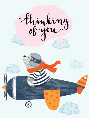 Daydreaming of You – Thinking of You Card