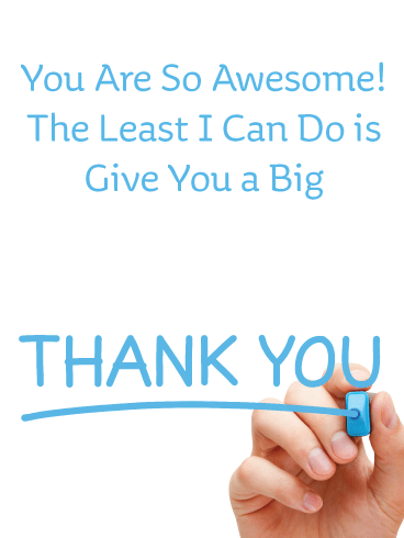 Whiteboard Appreciation – Thank You Card
