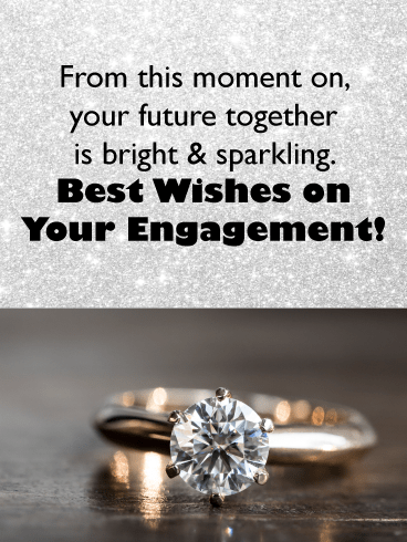 Diamond ring – Wedding & Engagement Cards