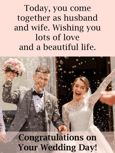 The New Mr. and Mrs. – Wedding & Engagement Cards
