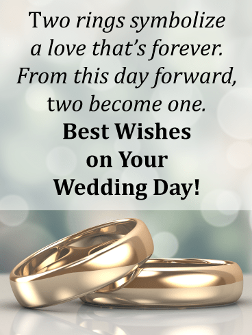 Wedding rings - Weddings & Engagement Cards