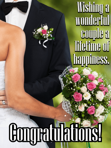 The happy couple – Wedding & Engagement Cards