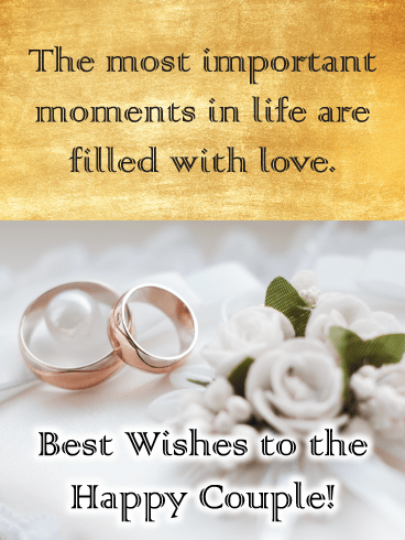 Wedding Wishes – Wedding & Engagement Cards