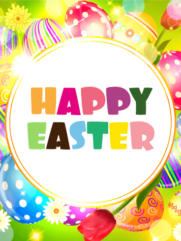 Fun & Pop Happy Easter Card