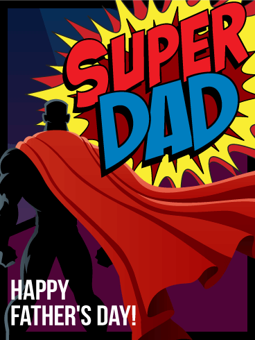 Super Dad - Father's Day Card