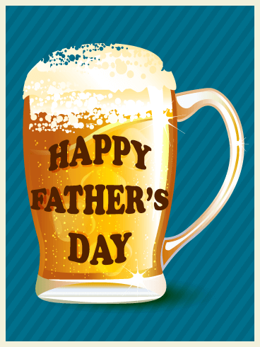 Raise a Toast! Happy Father's Day Card