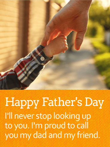 To my Respectful Father - Happy Father's Day Card