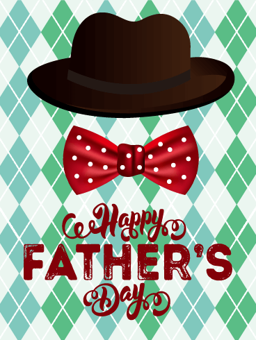 To a Father in Style - Happy Father's Day Card