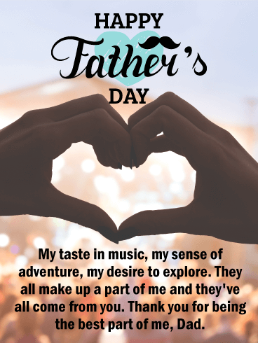 Thank You for Being the Best - Happy Father's Day Card