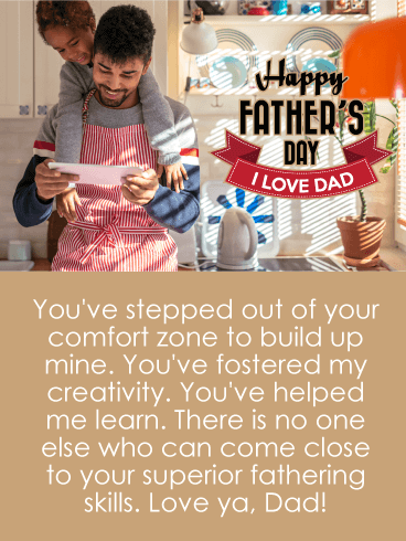 To the Best Team - Happy Father's Day Card