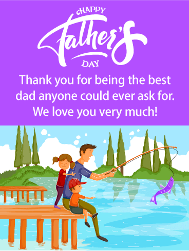 To Our Best Dad - Happy Father's Day Card