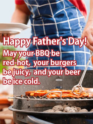 To the Grill Master - Funny Father's Day Card