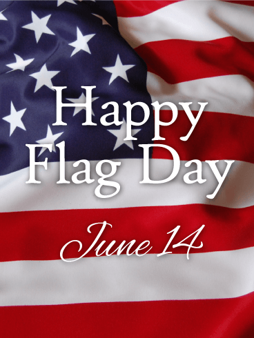 Stars & Stripes - Happy Flag Day Card