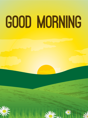 Beautiful Morning Card