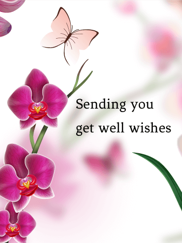 Get Well Wish Card