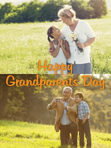 Fun Day! Grandparents Day Card