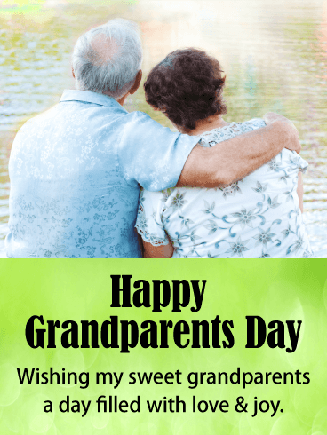 Love & Joy! Grandparents Day Card