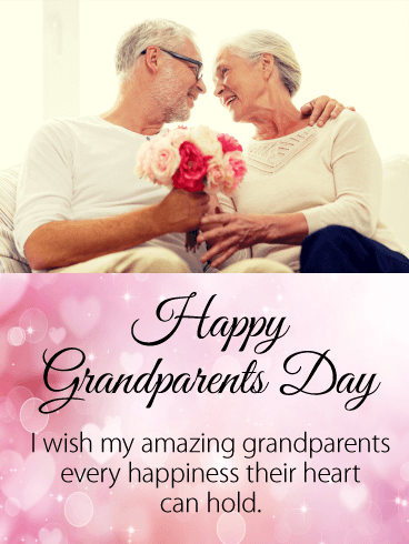 Loving Grandparents Day Card
