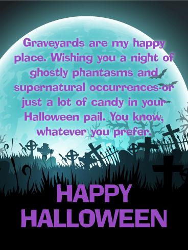 Creepy U0026 Funny   Happy Halloween Card