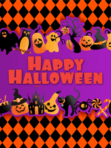 Fun & Exciting! Happy Halloween Card
