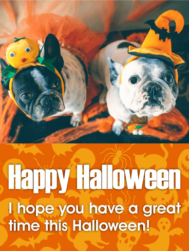 Have A Great Time Happy Halloween Card Birthday Greeting Cards