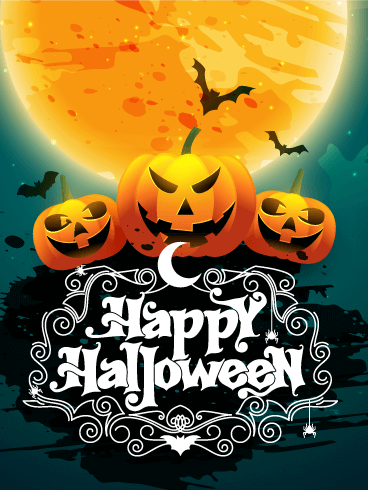 Let's Have Fun! Happy Halloween Card