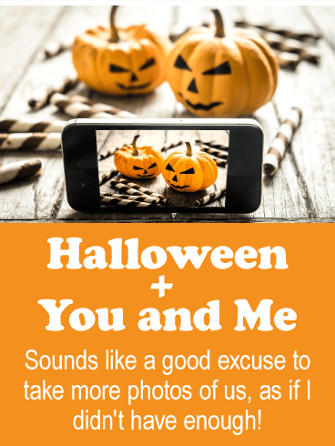 Halloween + You And Me. Sounds Like A Good Excuse To Take More Photos Of
