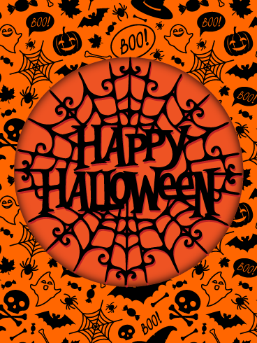 Web Holiday – Happy Halloween Card