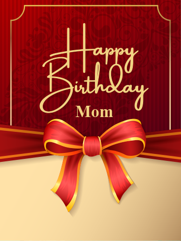 Untie The Ribbon – HAPPY BIRTHDAY MOM CARDS