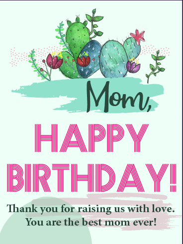 Love Is Bliss – HAPPY BIRTHDAY MOM CARDS