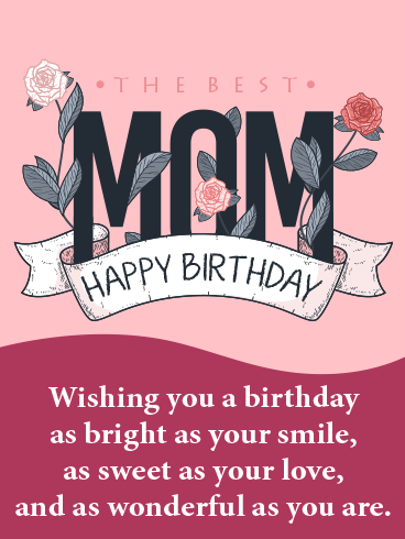 Mother's Power – HAPPY BIRTHDAY MOM CARDS