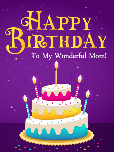 Pure Love – HAPPY BIRTHDAY MOM CARDS