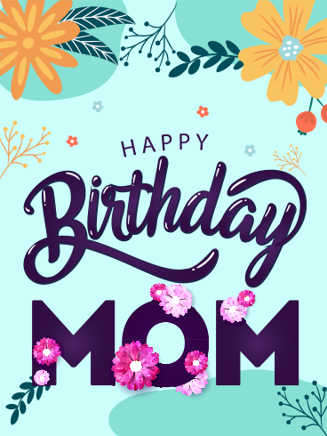 Supermom – HAPPY BIRTHDAY MOM CARDS