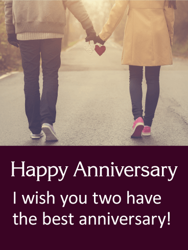 Always Together - Happy Anniversary Card