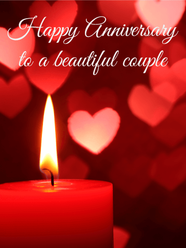 what a romantic night happy anniversary card birthday greeting
