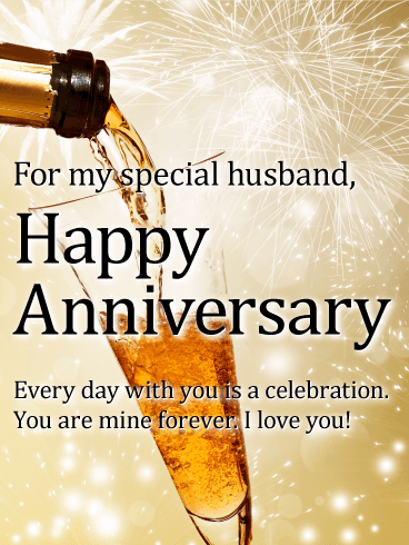 To My Best Friend Happy Anniversary Card Birthday Greeting