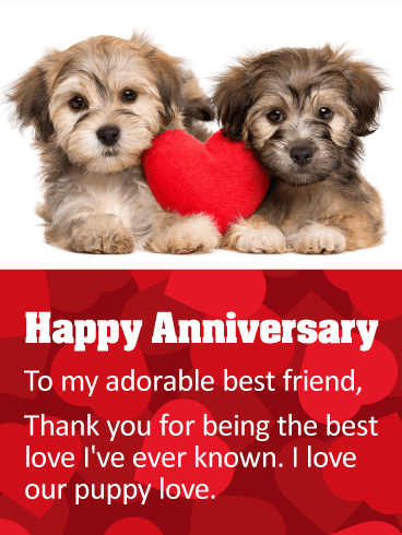 To my Best Friend! Happy Anniversary Card