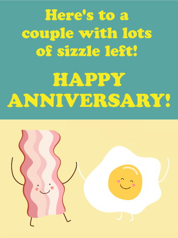 To the Best Match Couple - Funny Anniversary Card