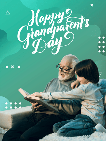 Lovely Moments – Happy Grandparents Day Card