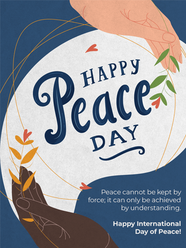 Compassion & Kindness – Happy International Day of Peace Card