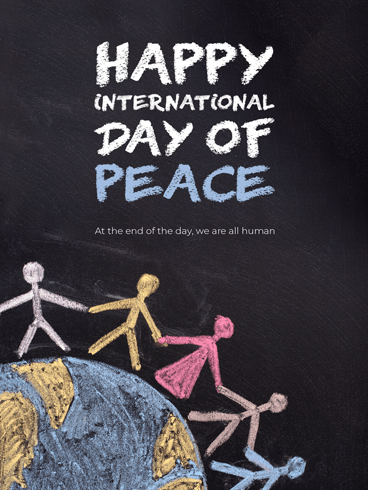 Shaping Peace Together – Happy International Day of Peace Card