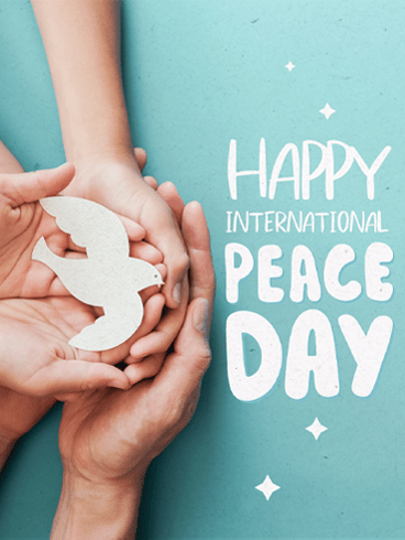 Together For Peace – Happy International Day of Peace Card