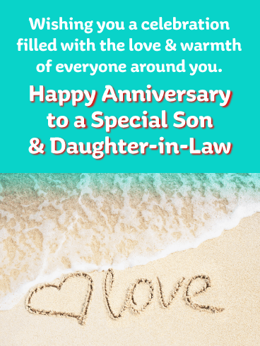 Enjoy this Milestone - Happy Anniversary Card for Son and Daughter