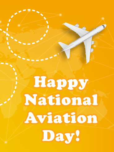 Many More Flights – Happy Aviation Day Card