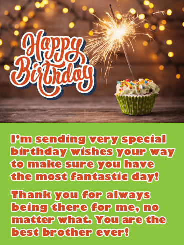 Birthday Cards for Brother | Birthday & Greeting Cards by