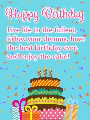 Enjoy The Cake